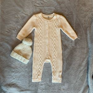 Old Navy Knit One Piece and Knit Hat